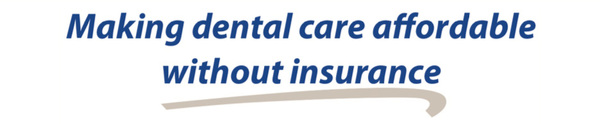 Making dental care affordable without insurance